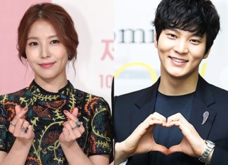 Boa and Joo Won