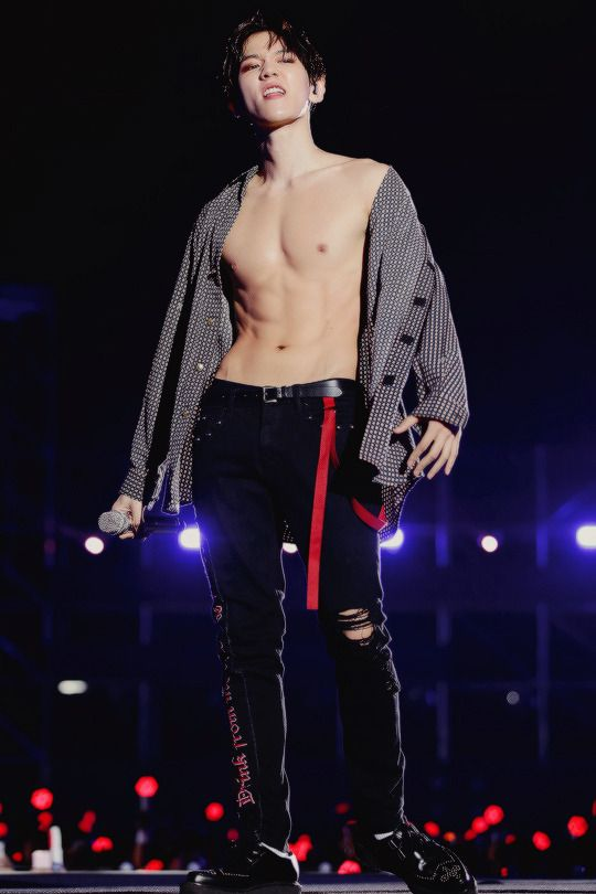 Image result for chanyeol abs