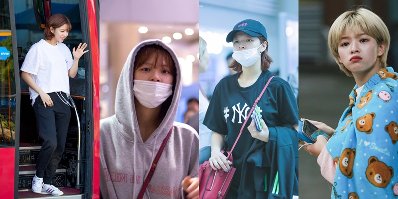 Jeongyeon Airport and Daily Fashion