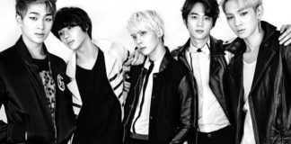 SHINEE black white