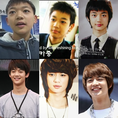 shinee minho before and after