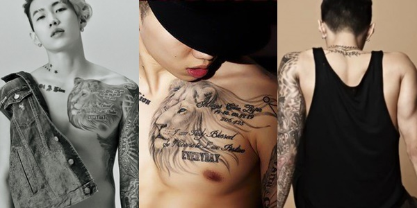 a0160a298 20 K-Pop Idols With the Best Tattoos and the Meaning Behind That ...