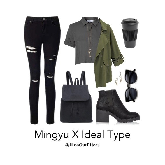 mingyu ideal girl outfit