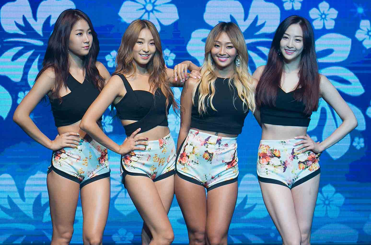Sistar Members Workout And Body Measurement Channel K