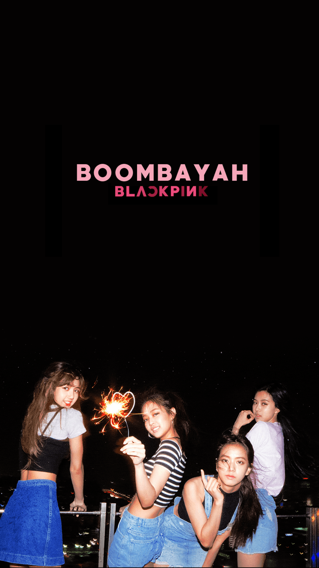 Colouring Your Phone And Desktop With Blackpinks Logo And