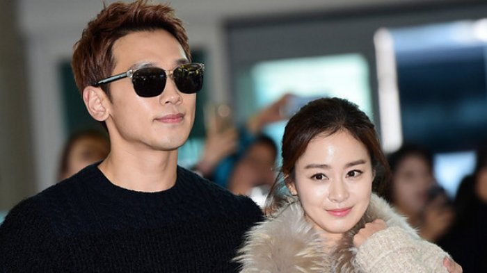 Kim Tae-hee and Rain