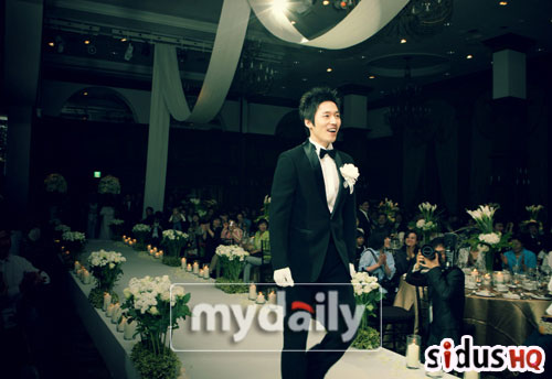 jang hyuk and wife