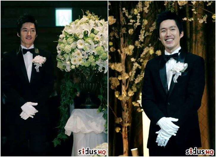 jang hyuk wedding