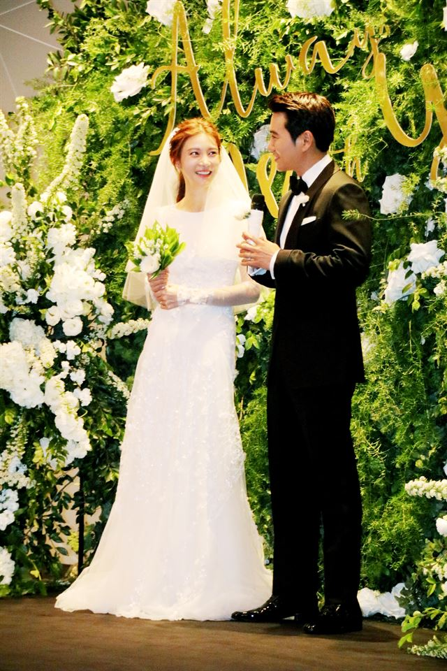 Joo Sang-wook and Cha Ye-ryun
