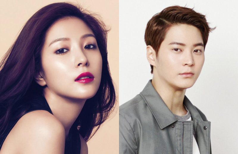 Joo Won and BoA