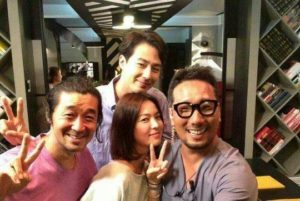 Song Hye-kyo Visited Jo In-sung on the Set of It's Okay
