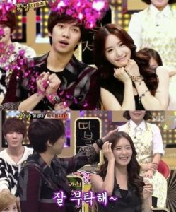 Lee Seung-gi and Yoona