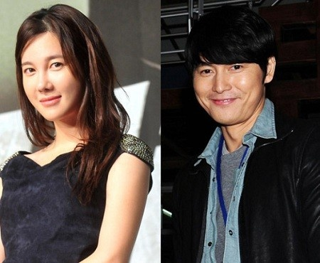 Jung Woo-sung and Lee Ji-ah