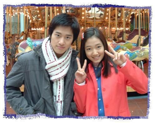 Lee Wan and Park Shin-hye in Stairway to Heaven