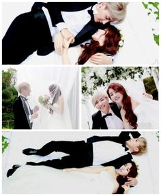 Leeteuk and Kang So-ra Photoshoot