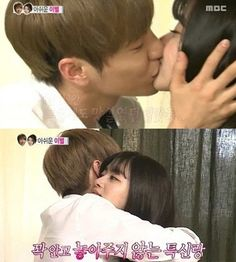 Leeteuk and Kang So-ra in Last Episode