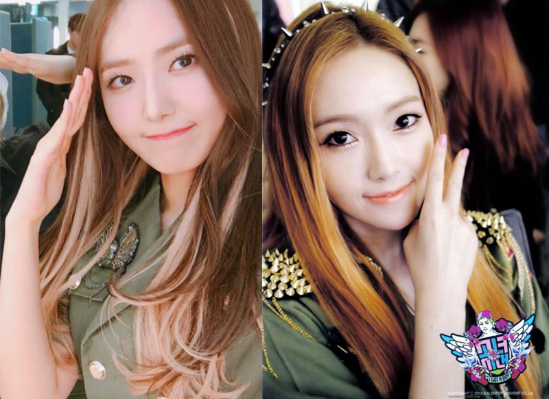 GFriend's ShinB and Jessica Jung