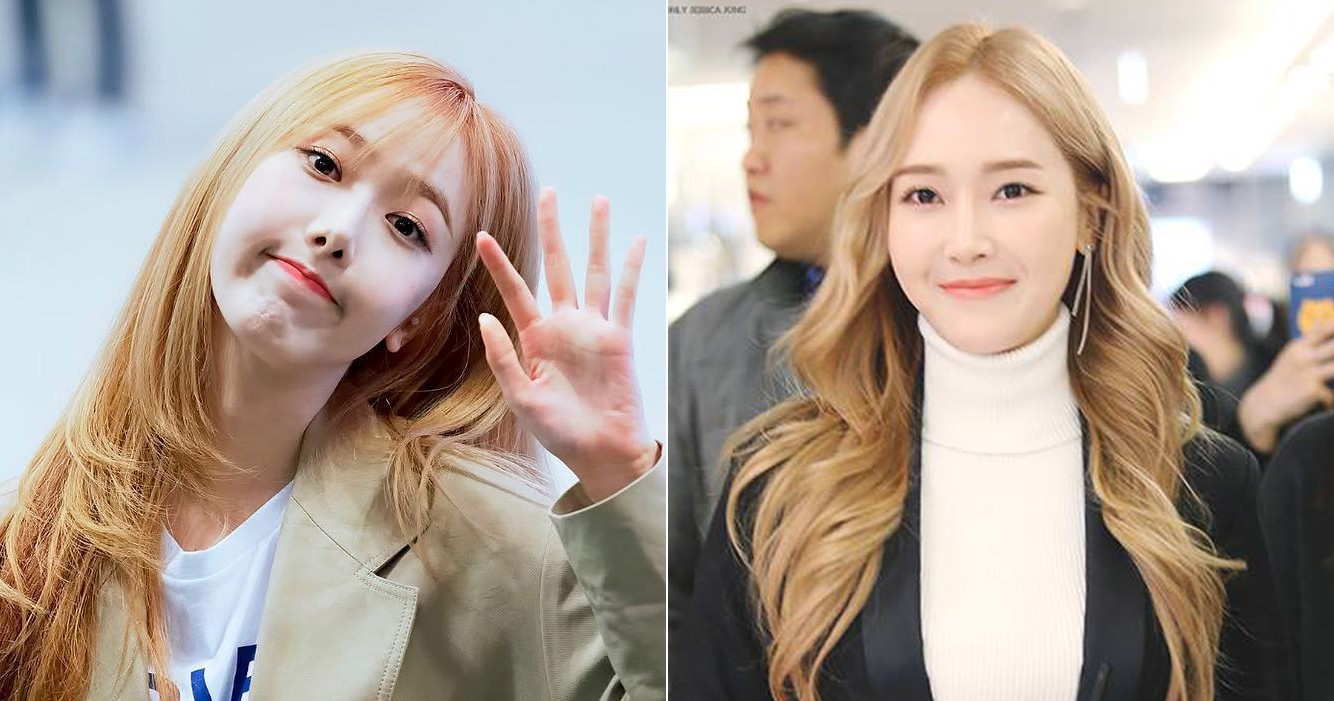Let's Compare GFriend's SinB and Jessica Jung's Photos That Make