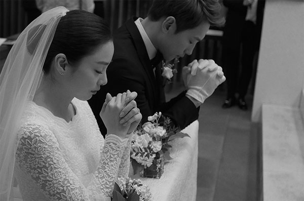Kim Tae-hee Rain Wedding