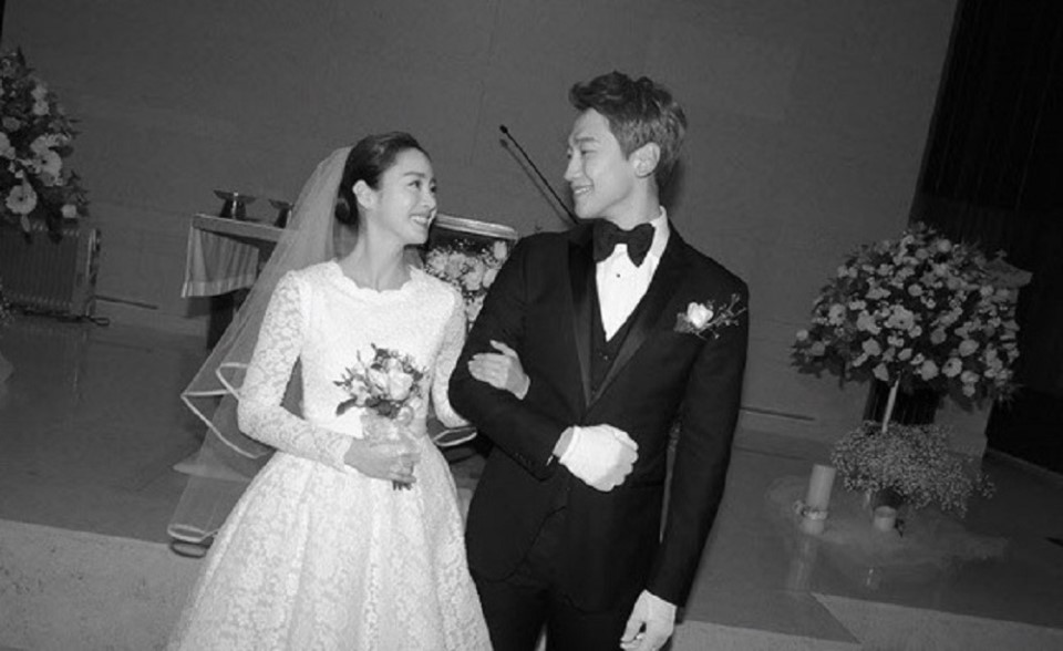 Kim Tae-hee and Rain Wedding