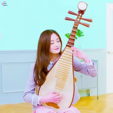 Kyulkyung Plays Instrument