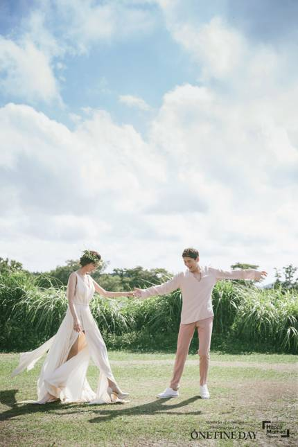 Song Jae-hee and Ji So-yeon Wedding Photos