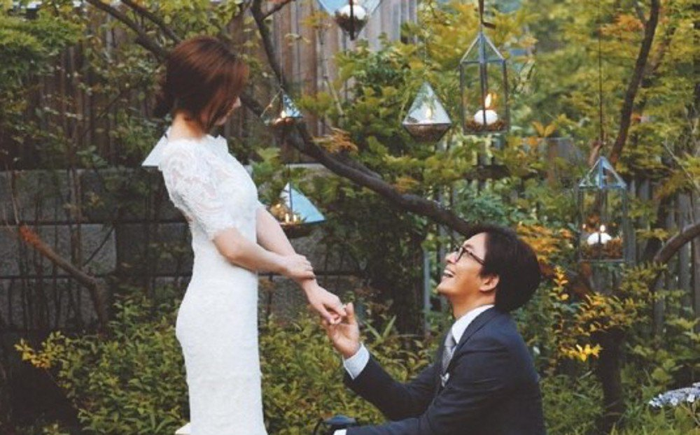 Bae Yong-Joon and Park Soo-jin