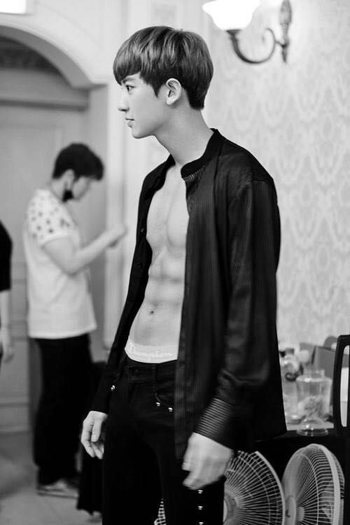 Chanyeol abs photoshoot 3