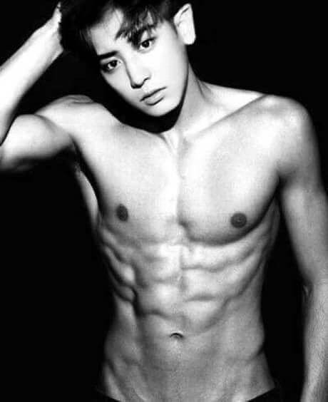 Chanyeol abs photoshoot 4