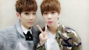 Kidoh and BTS' Jin