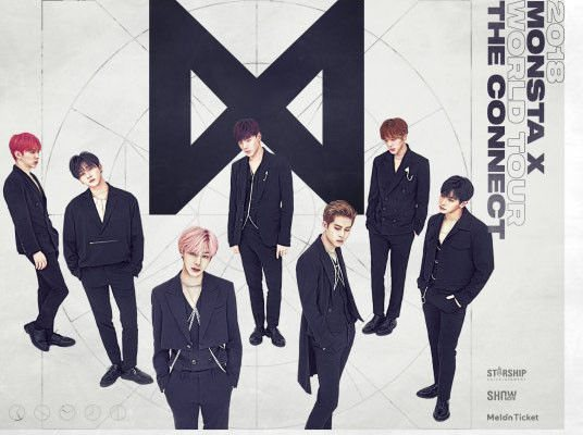 Monsta X World Tour The Connect