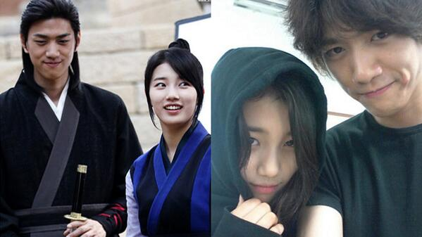 lee dong wook and suzy