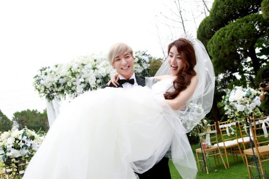 Kang So-ra with Leeteuk