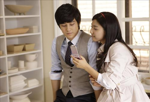 Kim Bum and Kim So-eun CF