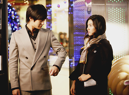 Kim Bum and Kim So-eun