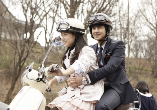 Kim Bum and Kim So-eun in Boys Before Flowers