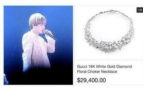 Kim Taehyung Necklace