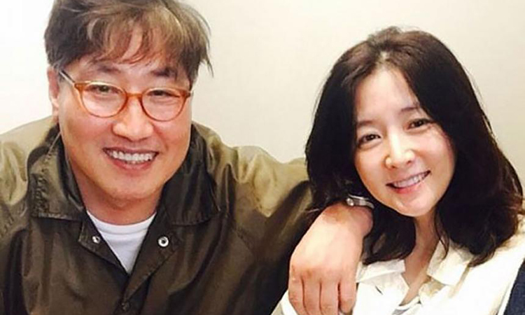 Lee Young-ae and Jeong Ho-young