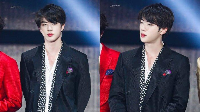 BTS Jin at Gayo Daejun 2018