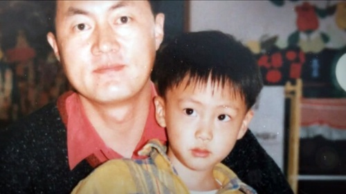 BTS Jin and father