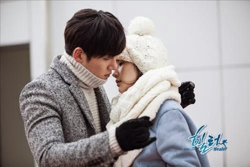Park Min-Young with Ji Chang Wook