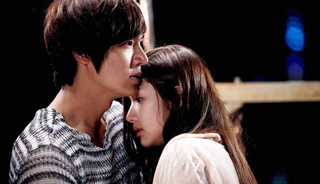Park Min-Young with Lee Min-Ho