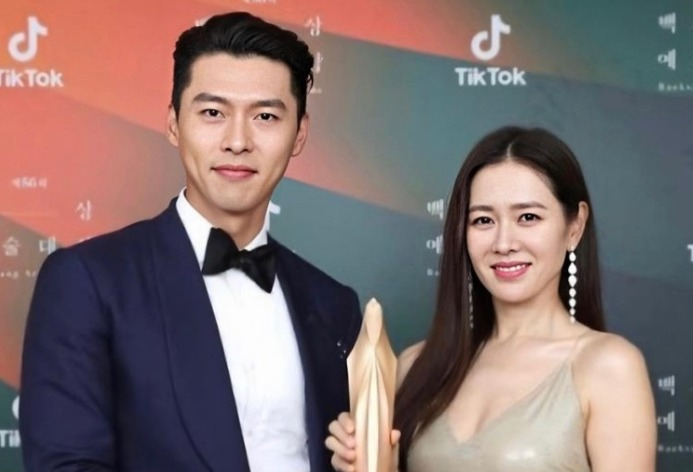 Son Ye-jin with Hyun Bin