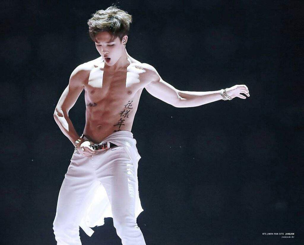 Take A Closer Look At Bts Jimin S Glorious Abs Channel K
