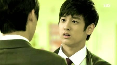 "Chanwoo in ""The Heirs"""