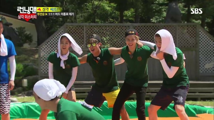 Running Man 209 New Idols