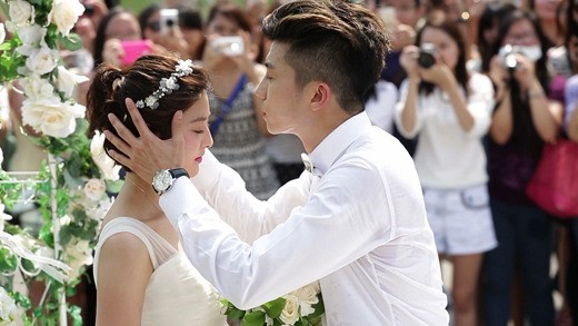 We Got Married Wooyoung Park Seyoung Wedding