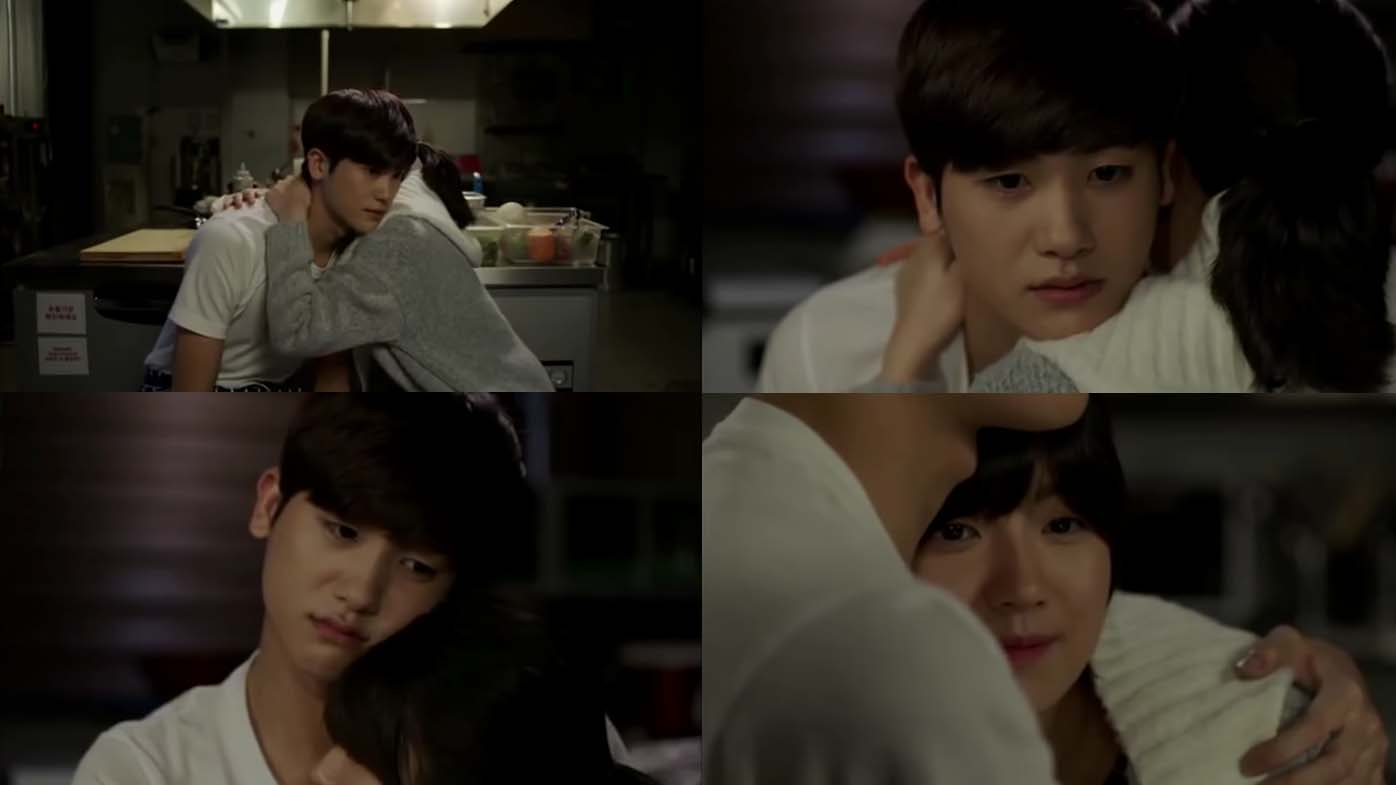 Park Hyung-sik and Nam Ji-hyun in Whats Happen To My Family