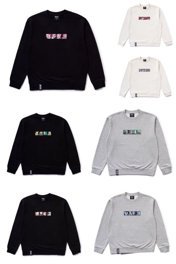 bt21 sweatshirt