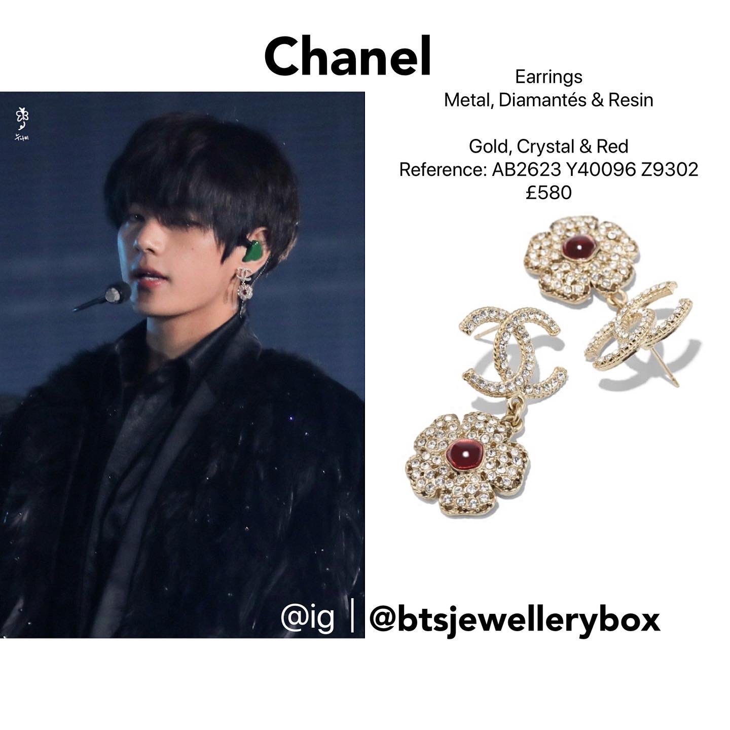 BTS-V-Kim Tae-hyung-Earrings